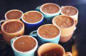 Dos ingredientes Mousse de Chocolate: una revisión de dos tipos. ¡ Que a empiece la prueba de sabor!