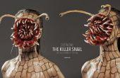 Caracol asesino - Tutorial de maquillaje de Halloween SFX