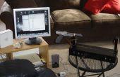 Theremin w/Zapper, láser, Arduino