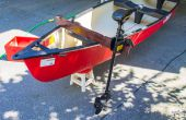 Eléctrico Trolling Motor canoa