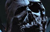 Cartulina Darth Vader casco