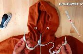 Vuelva a enhebrar su sudadera con capucha (en menos de 1 minuto) - Hack de vida