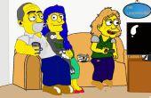 Cómo dibujar a sí mismo o a otras personas como Simpson Charakter