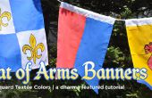 DIY escudo banderas y pancartas