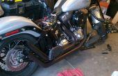 Cómo reparar y pintar los tubos de escape motocicleta