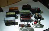 'Thomas el motor del tanque' estilo de tren coches