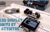 Cómo convertir gráficos de mapa de bits para la exhibición OLED SSD1306 por ATtiny85