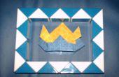Sombrero de Samurai de origami
