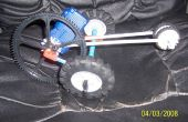 Dragster Motor del engranaje K'NEX
