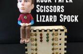 Piedra papel tijeras lagarto Spock escritorio juguete