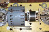 Desmontar un motor de CA de Crompton arroyo (de un torno Myford)