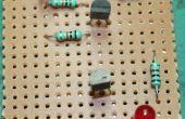 Circuito del sensor de agua