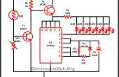 Luces de Navidad LED circuito