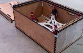 Flone Quadcopter transporte caja