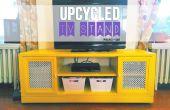 Soporte de la TV reciclado