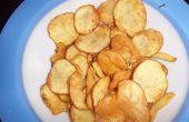 De merienda. Patatas fritas caseras