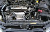 Fijación de un radiador de coches