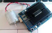 Cómo utilizar el controlador de Motor L293D - Arduino Tutorial