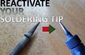 Cómo reparar su desgastado a punta de soldadura