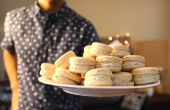 Macarons de pistacho | Josh Pan