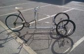 Falla: una bicicleta de 3 ruedas carga basculante completo
