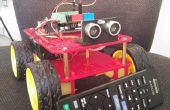 4WD Arduino RobotGaia IR