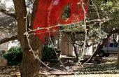 Ornamento del árbol de Navidad gigante al aire libre