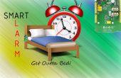 Inteligente de alarma de la cama con LinkIT uno