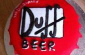 Torta de cerveza Duff