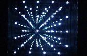 Matriz de LED 8 x 8 multiplexado infinito espejo