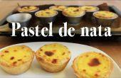 Pastel de nata receta | Taza de pasteles de crema portuguesa