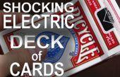 """330 voltios baraja eléctrica """"Shocking""""!  -(Broma besos de choque eléctrico)"""