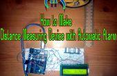 Aparatos con alarma automática de medición de distancia