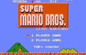 Encontrar las zonas de deformación secreto de Super Mario Brothers