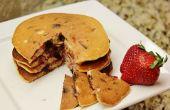 Fresa Chocolate Chip Pancakes (sin gluten)