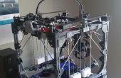 """Cómo crear una impresora 3D grande utilizando una impresora 3D más pequeña - """"Proyecto geométrico"""""""