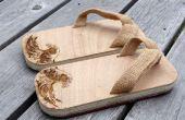 Geta moderno - sandalias de madera