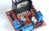 Control DC y paso a paso motores con módulos de controlador de Motor Dual L298N y Arduino