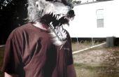 Cómo hacer una máscara de hombre lobo