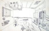 Cómo dibujar - perspectiva lineal básica