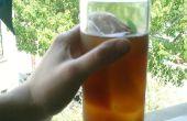 Estilo del sur dulce té de verano