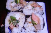 Rollos de Sushi tocino