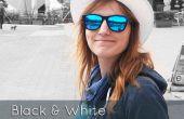 Blanco y negro con efecto de Color parcial