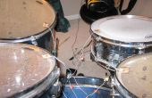 La manera más barata de tambores jugar RockBand con REAL