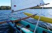 Diseño y construcción de una canoa de vela de estabilizadores de luz, capaz de auto-top [actualización en marzo de 2016]