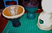 Papel Maché arte tambores