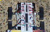 4WD barato objeto Robot evitando mediante cuatro sensores de proximidad infrarrojos...