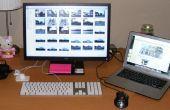 Cómo usar un Monitor externo para su ordenador portátil