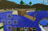 Casa de pesca de Minecraft