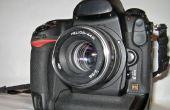ZENITH Helios 44m (M42) para Nikon F mount conversión.